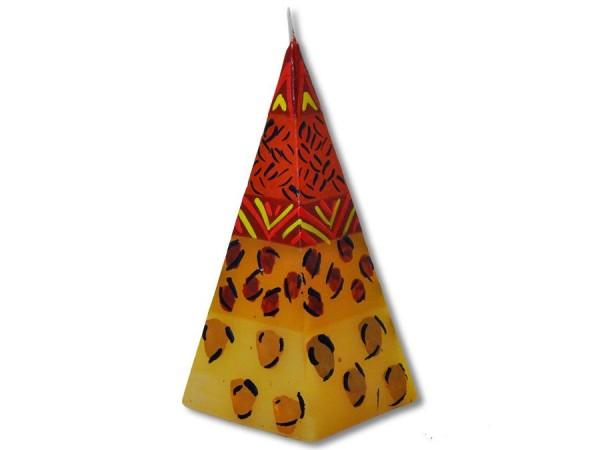 Pyramidenkerze Uzima 5cm x 12cm