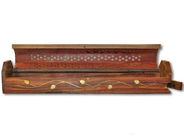 Räucherbox, Räucherstäbchenhalter Blumen-Ranken 30cm