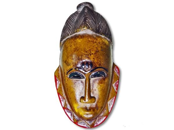 Maske der Baule Elfenbeinküste/ Afrika 17,5cm