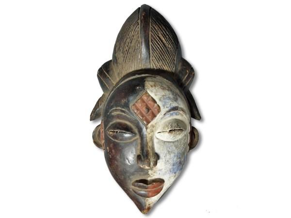 Maske Punu Gabun/Afrika 35cm