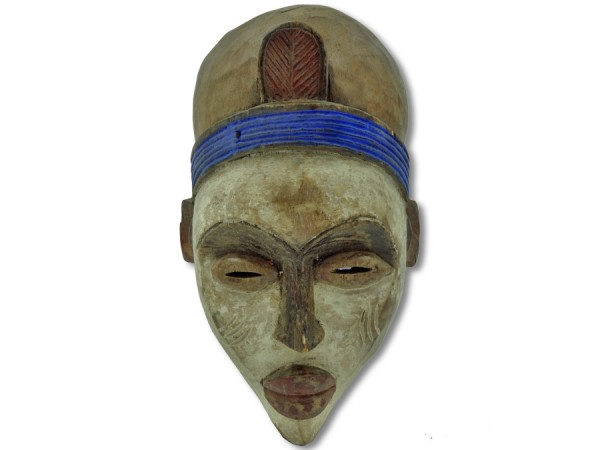 Bakongo Maske Kongo/Afrika 34cm