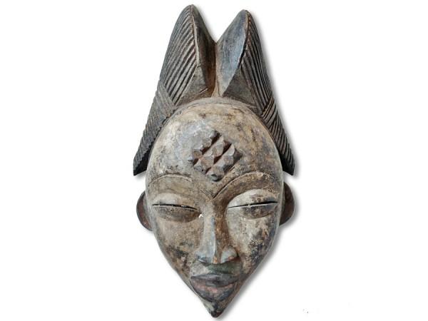 Punu-Maske Gabun Afrika 30cm
