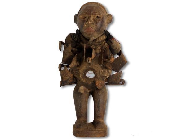 Nkisi-Figur der Bakongo Kongo/Afrika 27cm