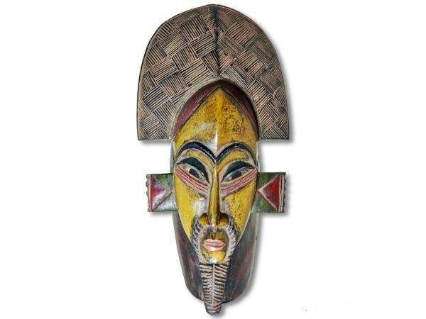 Baule Maske Afrika 44cm