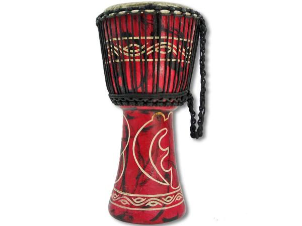 Africa Drum Ghana beschnitzt beste Qualität 50cm