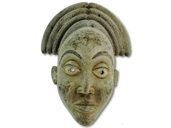 Bakongo Maske Kongo/Afrika 40cm