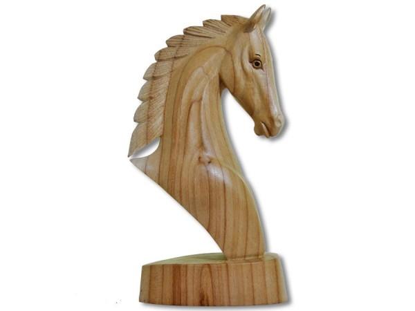 Pferdekopf Büste sehr feine Arbeit 30cm