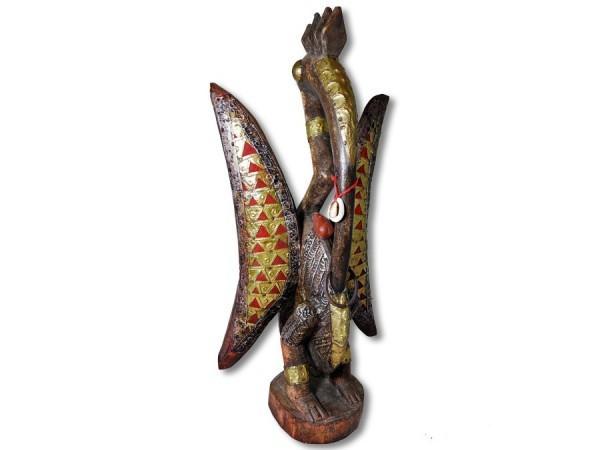 Heiliger Kalao Vogel der Senufo 48cm