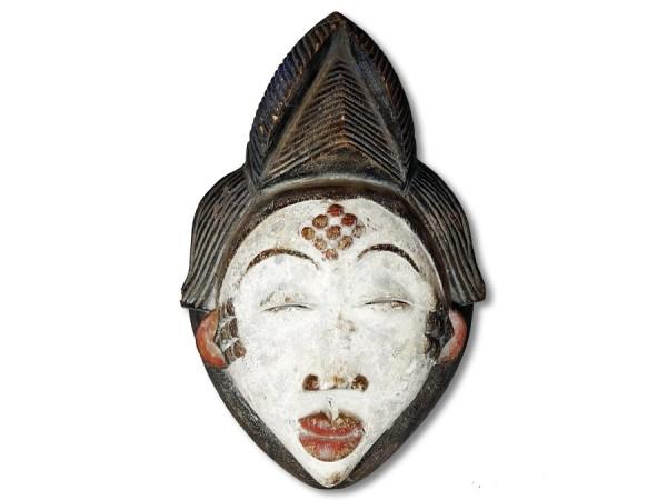 Maske der Punu Gabun/Afrika 33cm
