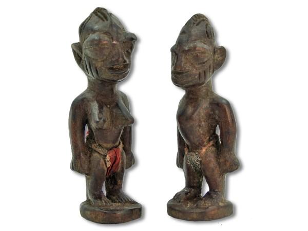 Ibeji-Zwillinge Nigeria/Afrika 15cm