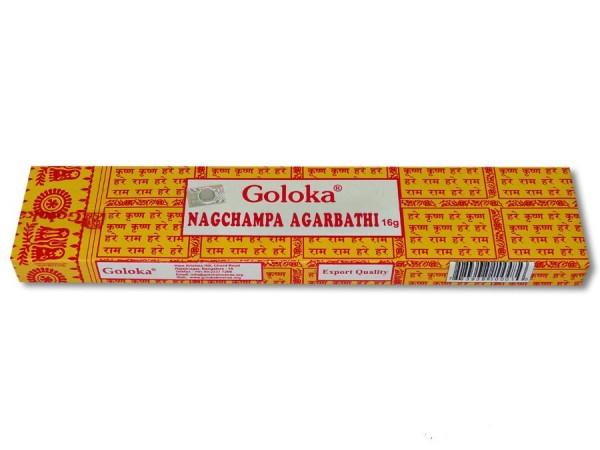 Räucherstäbchen Goloka Nag Champa 16g