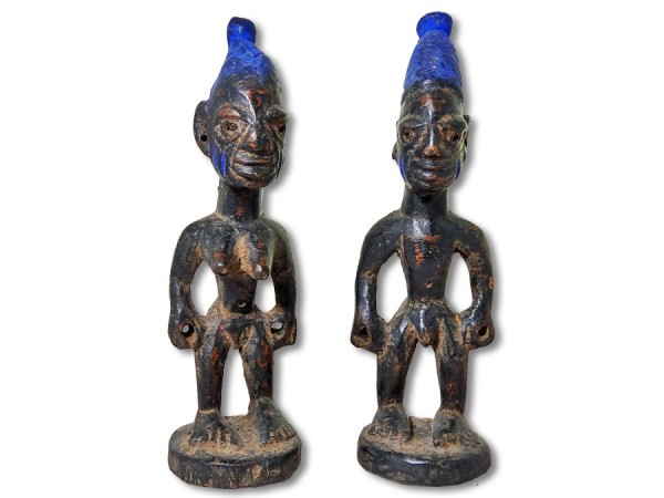 Ibeji Zwillinge der Yoruba 24cm
