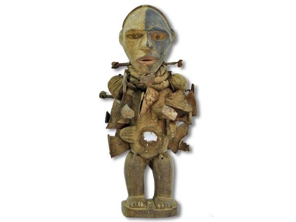 Afrikanische Nkisi Figur DR Kongo/ Afrika 32cm