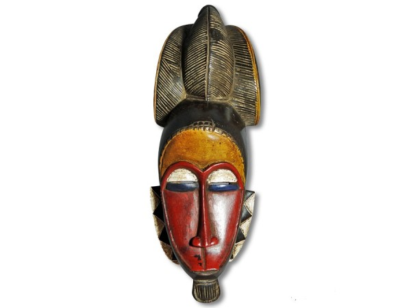 Maske der Baule Elfenbeinküste/ Afrika 48cm