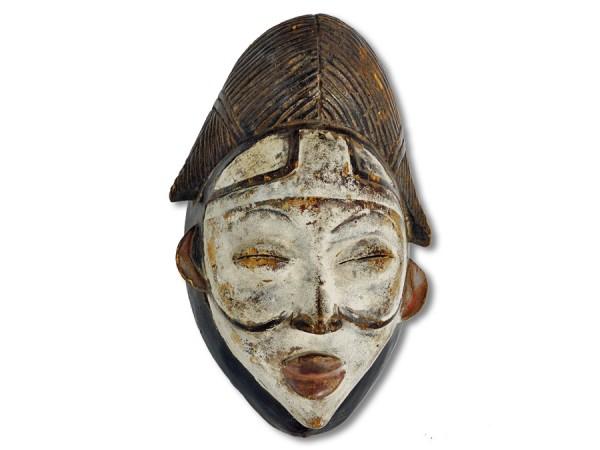 Maske Punu Gabun/Afrika 28cm