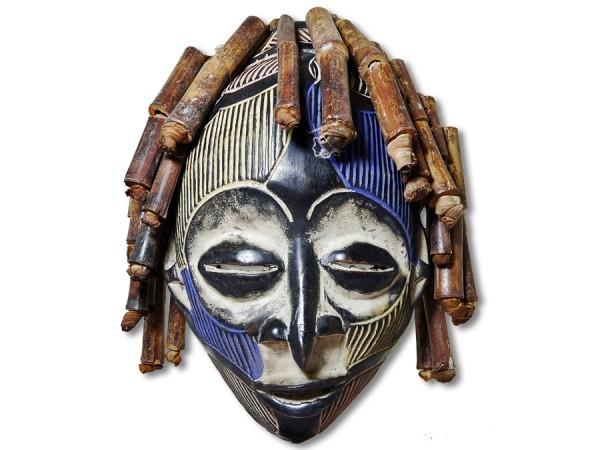 Maske der Chokwe DR Kongo/ Afrika 33cm