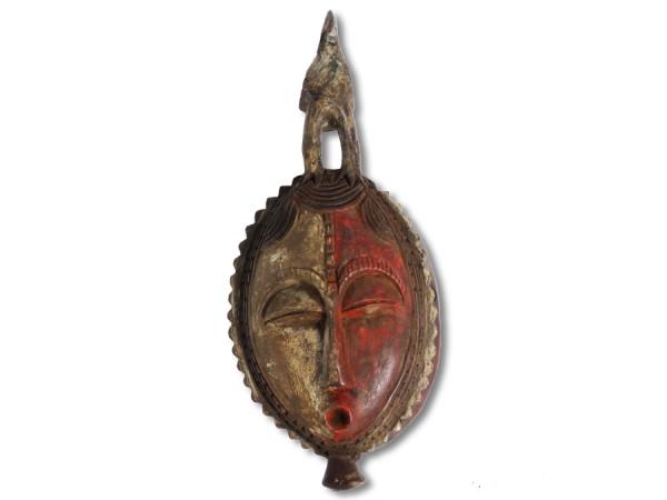 Yaoure Maske Elfenbeinküste/Afrika 32,5cm