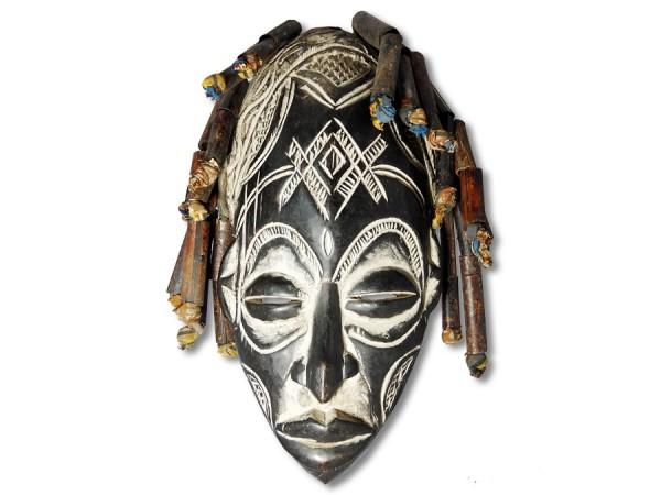 Maske Chokwe Kongo/Afrika 38cm
