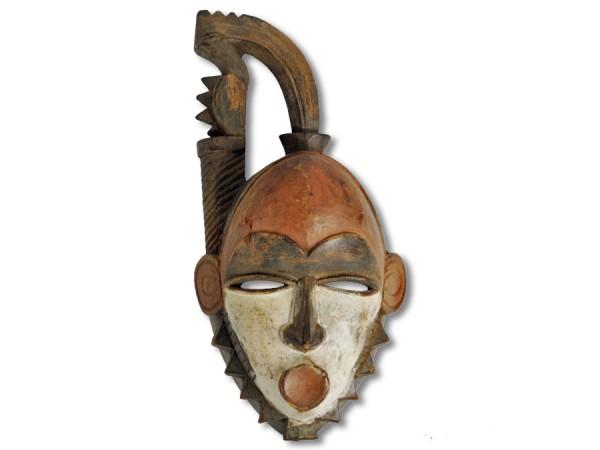 Yohure-Maske, Elfenbeinküste/Afrika 38cm