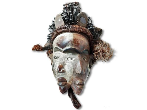 Bakongo Ritualmaske Kongo Afrika 41cm