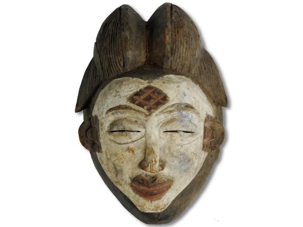 Punu Maske Gabun Africa/Afrika 33cm