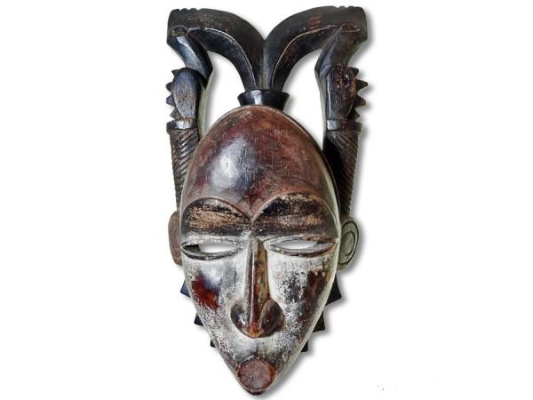 Yohure-Maske, Elfenbeinküste/Afrika 26cm