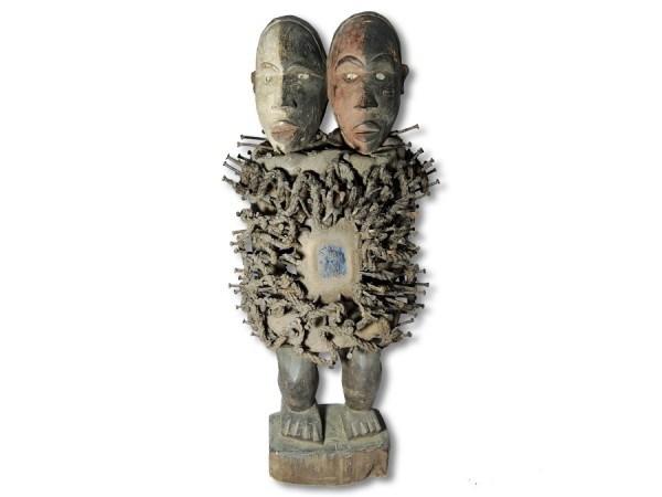 Nkisi, Nagelfetisch der Bakongo 70cm