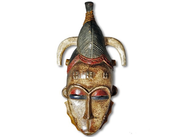 Guro Maske Elfenbeinküste/Afrika 35cm