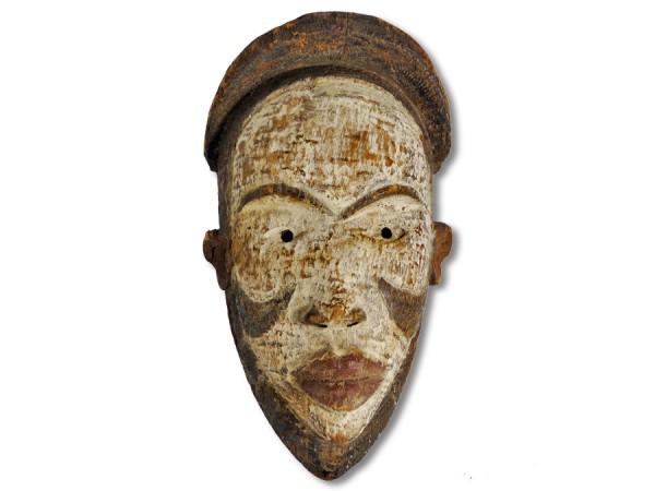Bakongo Maske Kongo/Afrika 33,5cm