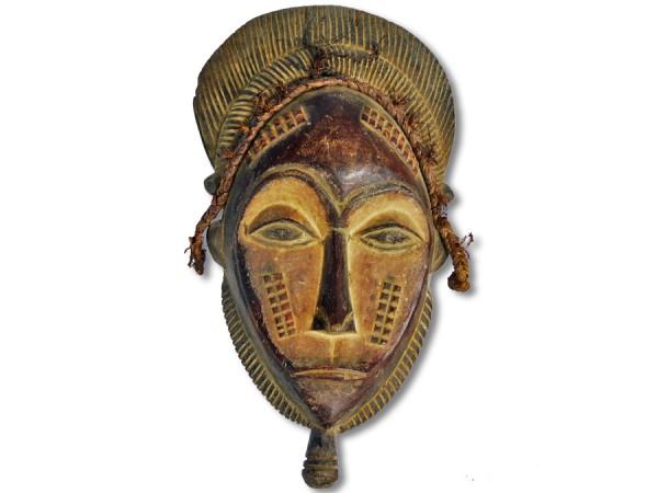 Maske der Ibo, Nigeria/Afrika 35cm