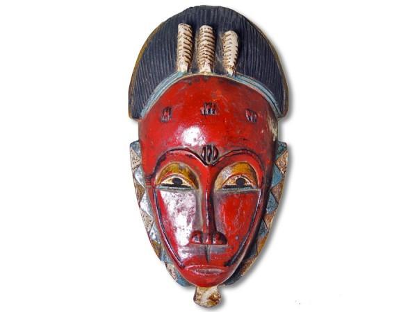 Baule Maske Elfenbeinküste/Afrika 27cm