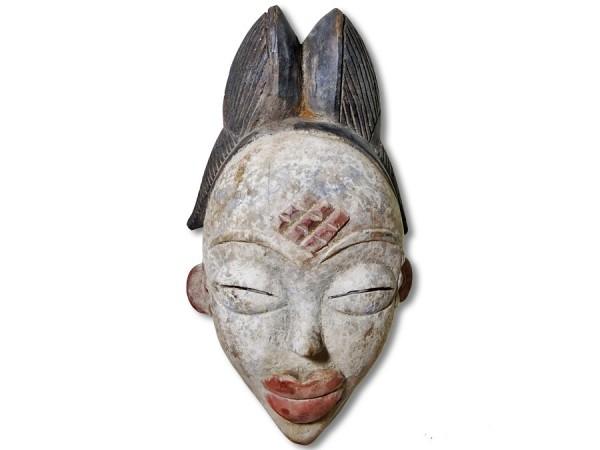 Punu Maske Gabun Africa/Afrika 31cm