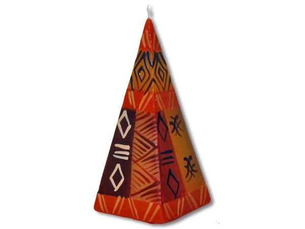 Litztoni Pyramidenkerze 5cmx12cm
