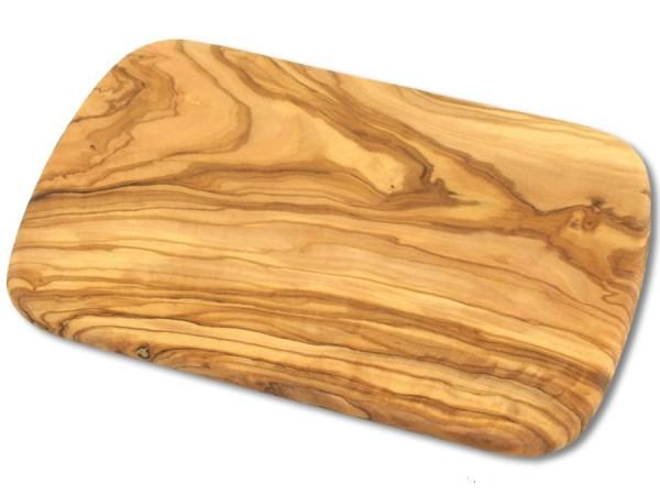 Olivenholz-Frühstücksbrett 22cm