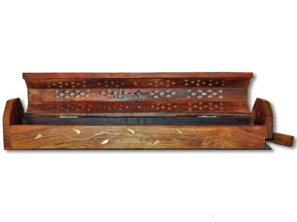 Räucherbox, Räucherstäbchenhalter Ranken 30cm